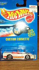 HotWheels 1991 #200 BLUE CARD CUSTOM CORVETTE