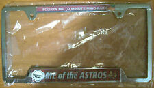 HOUSTON ASTROS (Brand New) LICENSE PLATE FRAME