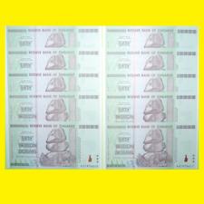 10X ZIMBABWE 50 TRILLION DOLLARS | CRISP CLEAN BANKNOTES! 100% GENUINE!