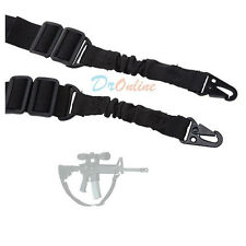 Tactical Two 2 Points Sling for Rifle Gun Duty Gear Hunting Dual-Clasp Belt
