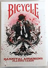 Karnival Assassins Red Deck Bicycle Playing Cards - 2nd Edition