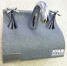 KOHLER  DECK - MOUNT BATH FAUCET TRIM Polished Chrome w: Brass - Display model