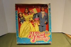 Heart Family Surprise Party. Unused. 1986 Mattel Barbie sized
