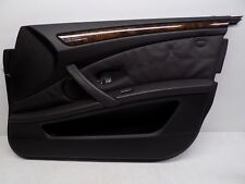 2008-2010 BMW 550i 535i FRONT RIGHT INTERIOR DOOR PANEL COVER BLACK TRIM OEM
