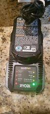 RYOBI Battery Charger P118 18 Volt One Plus IntelliPort 140185010 OEM