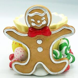 Gingerbread Man Candle Holder Partylite P7902