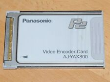 Panasonic aj-yax800 Video Encoder Card para p2 videocámara aj-hpx2100