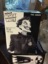 Joker Jim Lee DC Comics Batman Black White Mini Statue New from 2009 926/5500