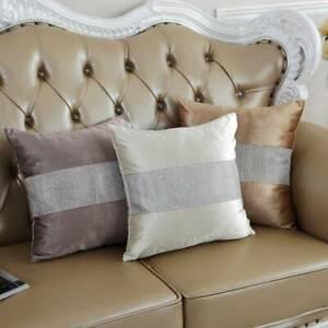 Soft Velvet Long Throw Pillow Case Sofa Decor Cushion Cover SG