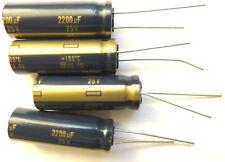 2200uf 25v 105C LOW ESR  Size 12.5mmx35mm Panasonic EEUFC1E222 x4pcs