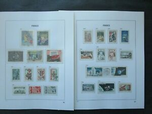 ESTATE: France Collection on Pages, Great Item! (p9121)