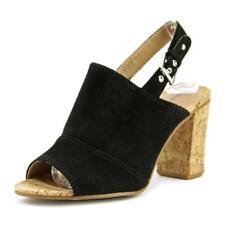 Zapatos de tacón de mujer de tacón alto (más que 7,5 cm) de lona talla 37