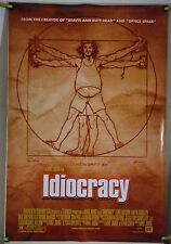 IDIOCRACY DS ROLLED ORIG 1SH MOVIE POSTER LUKE WILSON MIKE JUDGE COMEDY (2006)