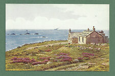 C1930'S A. R. QUINTON PC , FIRST & LAST HOUSE IN ENGLAND, LAND'S END - CORNWALL
