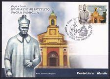 ITALIA Cartolina Filatelica Sacra Famiglia Anno 2016