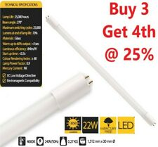 T8 5ft LED Bright Batten Fluorescent Tube Light Replacement Wall & Ceiling Fit