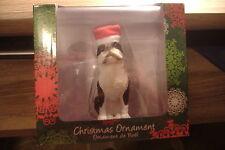 ~BOSTON TERRIER~SANDICAST CHRISTMAS ORNAMENT~NEW~