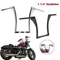 """1-1/4"""" 16"""" Rise Ape Hangers Handlebar For Harley Sportster XL Softail FLST FXST"""