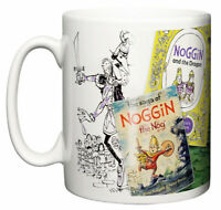 Dirty Fingers Mug, Noggin the Nog Comedy Childrens TV series Retro Gift