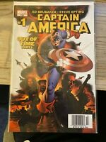 Captain America Volume 5 #1 Out of Time Part 1 Marvel Comic mint condition