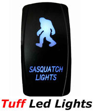 Tuff Led Lights - Two Sasquatch Blue Led Rocker Switch High Quality