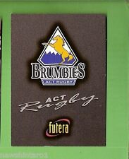 1996 RUGBY UNION  CARD #67 LOGO CARD, BRUMBIES