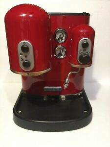 KITCHENAID 5KES100 ARTISAN ESPRESSO COFFEE MACHINE - RED (PARTS OR REPAIR)