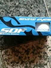 Snake Eyes Sdf Golf Balls White Extreme Distance High Energy core 392 Dimples