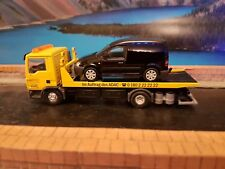 CONRAD MAN TG  RECOVERY TRUCK WITH WSI VOLKSWAGEN CADDY SCALE 1.50