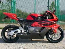 Red With Black Fairing for Honda 2004 2005 CBR1000RR 04 05 Injection Molding aBX