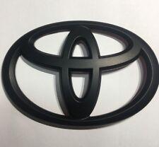 Front Toyota 86 Matte Black Badge Emblem Sticker For Toyota 86 2012 ~ 2016