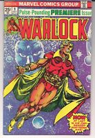 Warlock 9 - VF/NM - White Pages - Infinity War Crossover