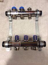 Watts Radiant 3 Loop Manifold Supply And Return