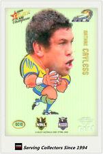 *2008 Select NRL Champions Superstar Acetate Gem Card GC10 Nathan Cayless