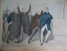John Doyle HB Political Caricature Litho 'The Turco Greek Conspiracy' 1830