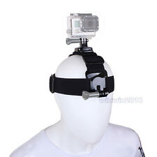 360° Rotation Head band Strap Mount Belt For Gopro Hero Camer 5 4 3+ New