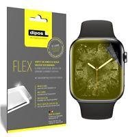 2x Schutzfolie für Apple Watch Series 5 (44mm) inkl. Rundung 3D Full Cover Flex