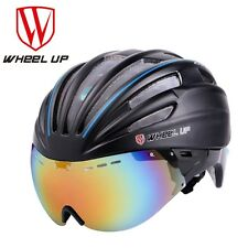 Racing Skating MTB Road Bike Bicycle Helmet With Cycling Glasses Lens 57-62cm
