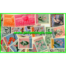 Maluku Selatan timbres de collection tous différents.