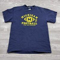 Vintage Big House Michigan Wolverines T-Shirt NCAA Football men's Medium U100