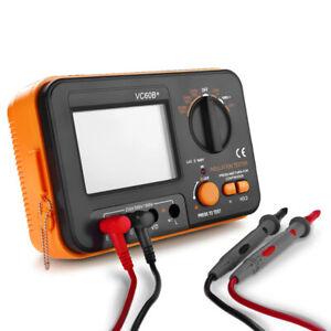VC60B + LCD Digital Insulation Resistance Tester Megger Meter 1999M 250/1000V