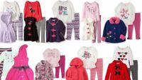 Kids Headquarters Baby Girls 3 Pc Set Leggings Shirt Fleece Vest Outfit Set New