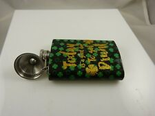 Today is a good day to get drunk shamrock stainless steel Flask purse size 5 oz