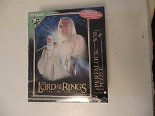 Wrebbit Perfalock puzzle Gandalf 500 pieces Lord of the Rings, NEW Sealed Box