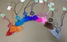 Wholesale set of 10 CAR CHARMS, Dreamcatchers ,hand made in Mexico,Necklace