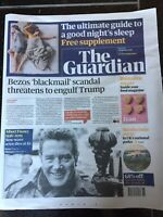 Albert Finney Obituary Front Page Tv Actor Newspapers The Guardian 09/02/2019