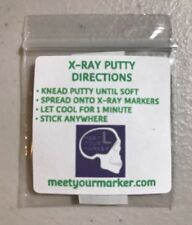 10 - X-RAY MARKER PUTTY SETS radiology xray markers bucky stick em MYM NO TAPE