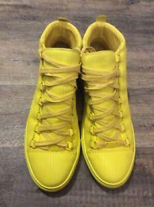 Balenciaga Arena Yellow Sneakers SZ. 42 Good Condition