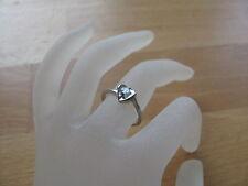 Ring (RSS0010) 925er Silber mit Swarovski-Stein, Gr. 16,5/15,5