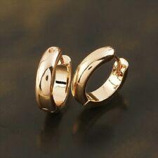 Pendientes zarcillos para mujer con oro rosa 18 kgf gold filled